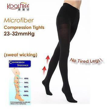 b8d9b058ff Taiwan New Microfiber Sweat Wicking Compression Tights 23-32mmHg Pantyhose  FDA Approved | CHYAU KE CO., LTD.