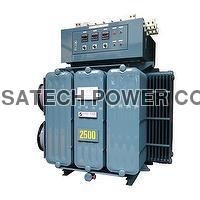 Heavy Duty Inductive Voltage Regulator, Oil immersed Cooling type, automatic vol...