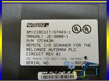 taiwan reliance electric 57c443a a b rio scanner interface for rh taiwantrade com reliance electric automax manuals reliance electric automax manuals