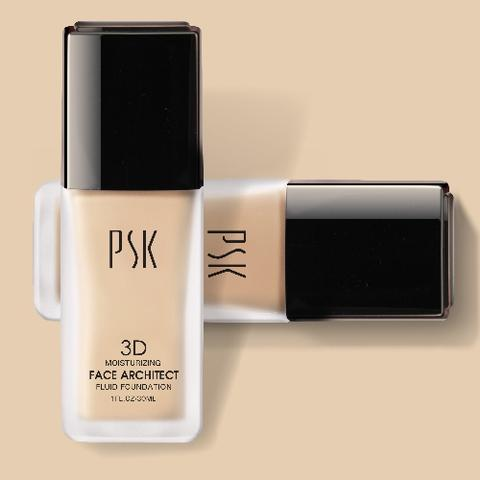 PSK Makeup Nude Color Moisturizing Fluid Foundation