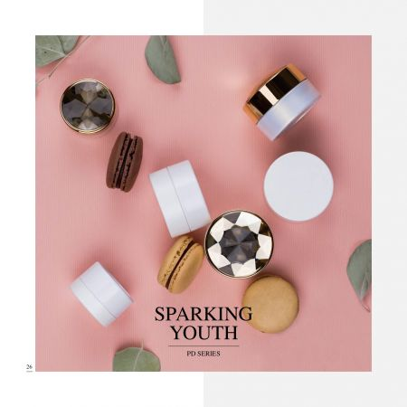 Sparkling Youth (Eco-friendly Cosmetic Jar Packaging Series)
