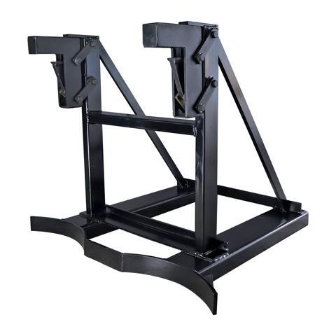 Forklift attachment - drum handler