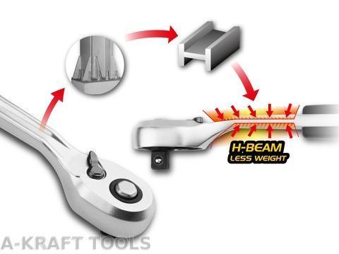 Ratchet R2200 - Patent H-Beam Design