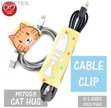 Cable Clip - Cat Hug