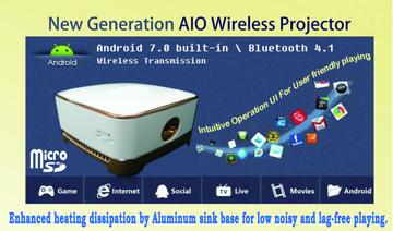 AIO Wireless Projector