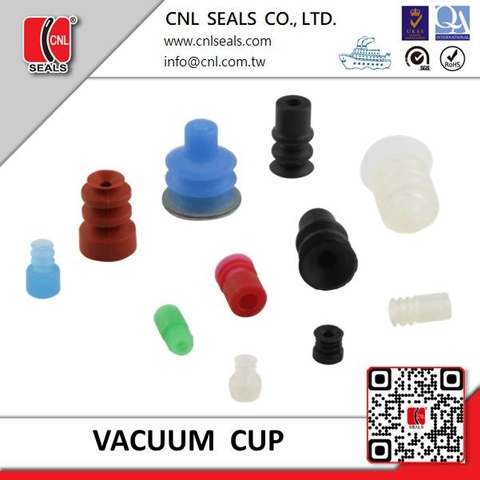 Rubber Vacuum Pad 2.5 bellows type