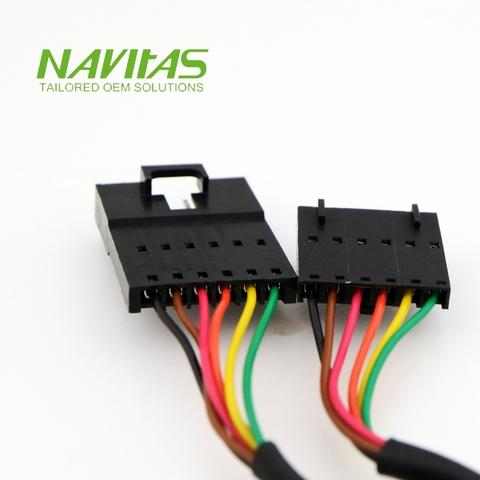 Molex 6pin 2.54mm Male to Connector Custom Wiring ... on asus harness, hitachi harness, ideal harness, delta harness,