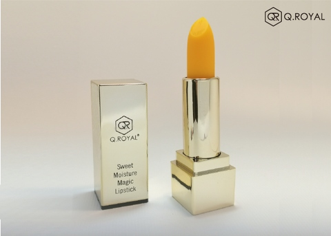 Lasting & Moisture Wonder-Color Lipstick (Macaron Yellow)