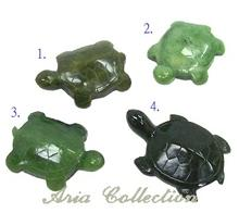 Taiwan Jade Turtle Sculpture