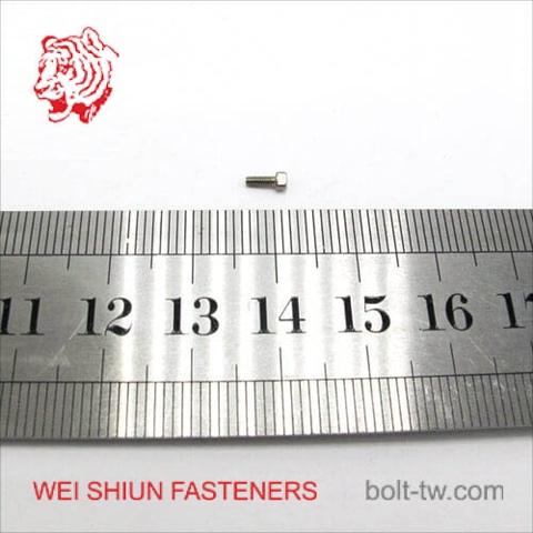 Taiwan Micro screw socket head cap screw m2 stainless steel -Machine