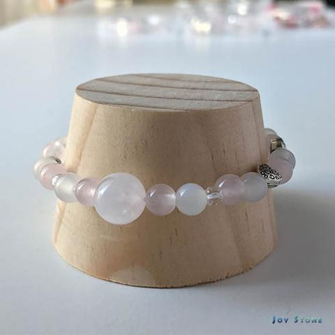 In Love Bracelet Rose Quartz