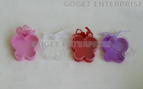 Plastic Butterfly Shape Beauty Box