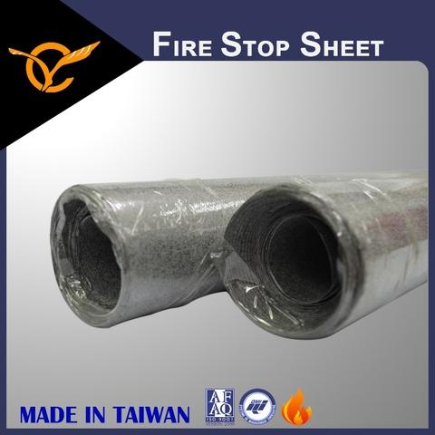 Easy To Cut Fire-Resistive Intumescent Sheet