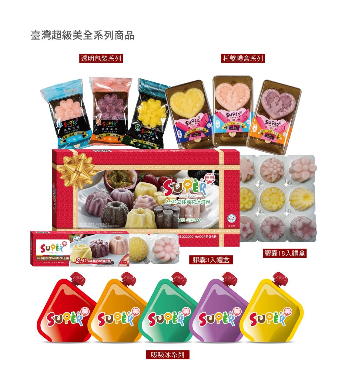 Tauwan Supermei Ice Cream