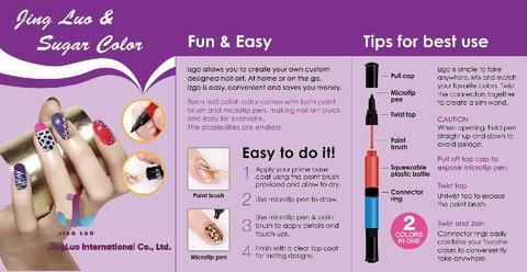 Nail polish, oily