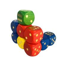 Colorful Wooden Dice-Go..
