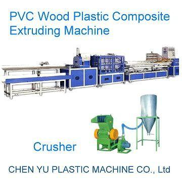 PVC Plastic Wood Composite Extruding Machine Production Line