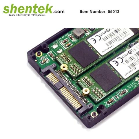 "Shentek 2.5"" 2 Slot B Key SATA Express Converter HDD"