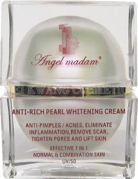 Angel Madam Anti-rich Pearl Whitening Cream Anti-pimples And Acnes- skin care product