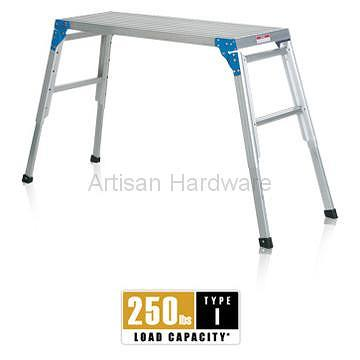 Taiwan Aluminum Work Platform W Adjustable Legs Type I