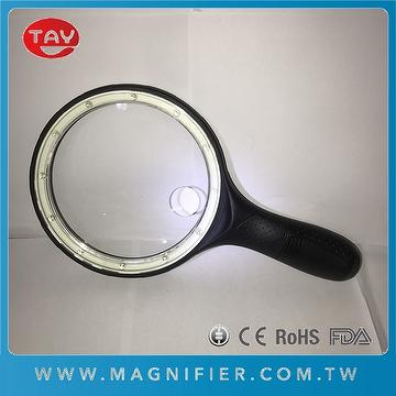 handheld lighted magnifying glass efficient power energy
