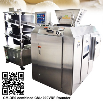 CM-DE6連續式六口麵團分割機