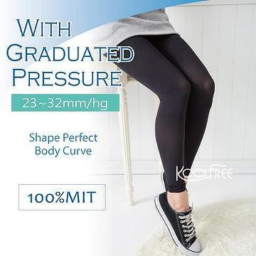 c2997e31b5 Taiwan New Footless Tights Women Compression Slimming Tights 23-32mmHg Leggings  Leg Shaping Stockings | CHYAU KE CO., LTD.