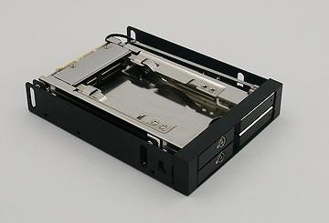 "2x2.5 ""  internal enclosure (fits 5mm_7mm HDD)"
