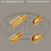 MOTORCYCLE CARBURETOR JETS, MOTORCYCLE CARBURETOR JET