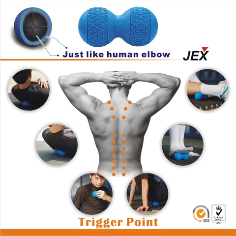 AU Travel Massage Roller Stick Trigger Point Sports Muscle Body Massager MC