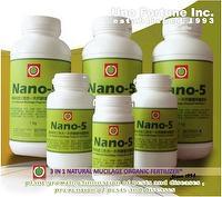 Nano-5 - A 3 in 1 Natural Mucilage Organic Fertilizer