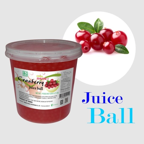 Cranberry Flavoured Juice Ball