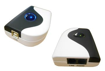 SkyBox S1 - USB Skype/VoIP adapter with landline support