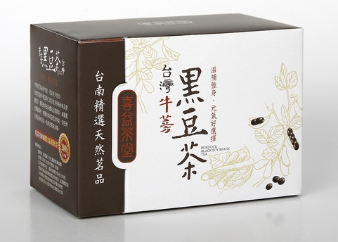 Taiwan burdock black bean tea,agricultural foods tea drinks,