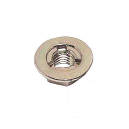 Hex Flange Nut – Painting Clear