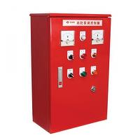 Control panel for fire pumps