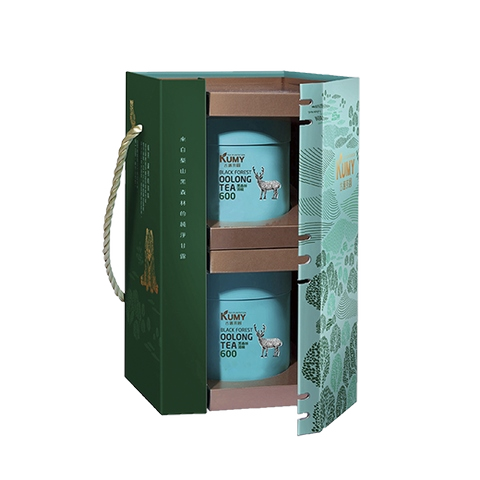 Taiwan tea_Forest Rhyme A_Black Forest Oolong 600_2 cans