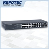 16-P 1000T + 2-SFP(100/1G) slot  L2+ Managed Switch