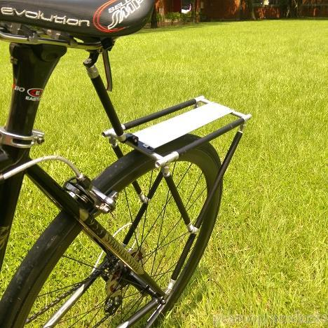 bike part, bike accessory, luggage carrier, luggage, bag
