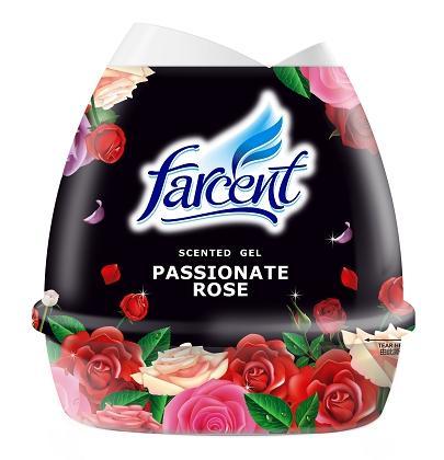 Flower shape scented gel-Rose
