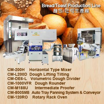 Bread Production Line (CHANMAG Bakery Machine)