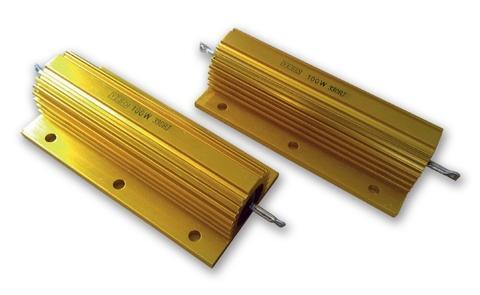 aluminum housed resistor