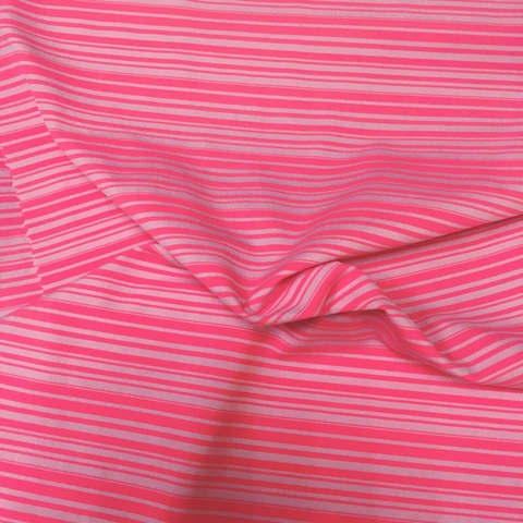 Stripe stretch jersey