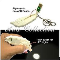 LED light & card reader