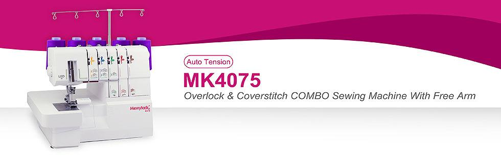 Merrylock Overlock & Coverstitch COMBO Sewing Machine With Free Arm