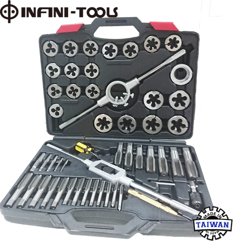 """Details about  /M24 X 1.5 RH HSS HAND TAP M2 ISO OD 2/"""" HSS split screw Die button"""
