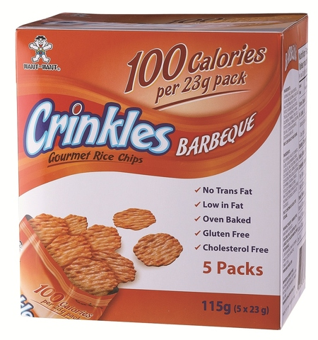 Want Want Crinkles (OEM) - BBQ