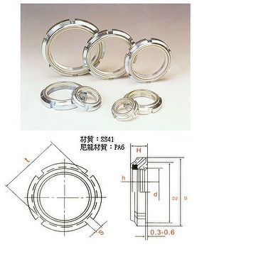 GUK Self Locking Nut