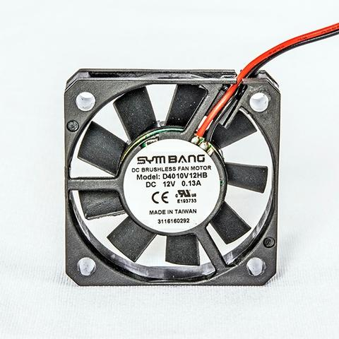 DC 40x40x10mm Small Axial Fan