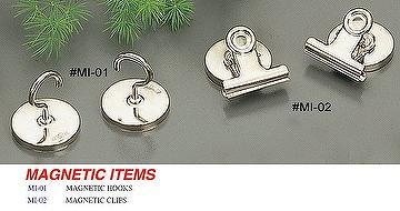 Magnetic Hooks & Magnetic Clips